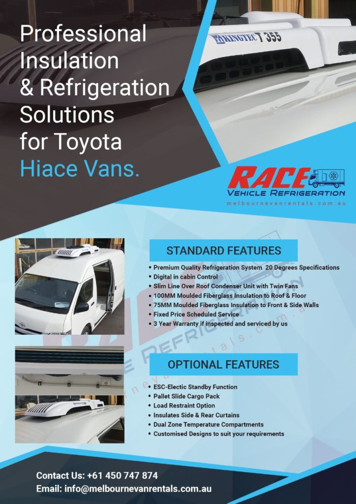 Vehicle Refrigeration - Brochure