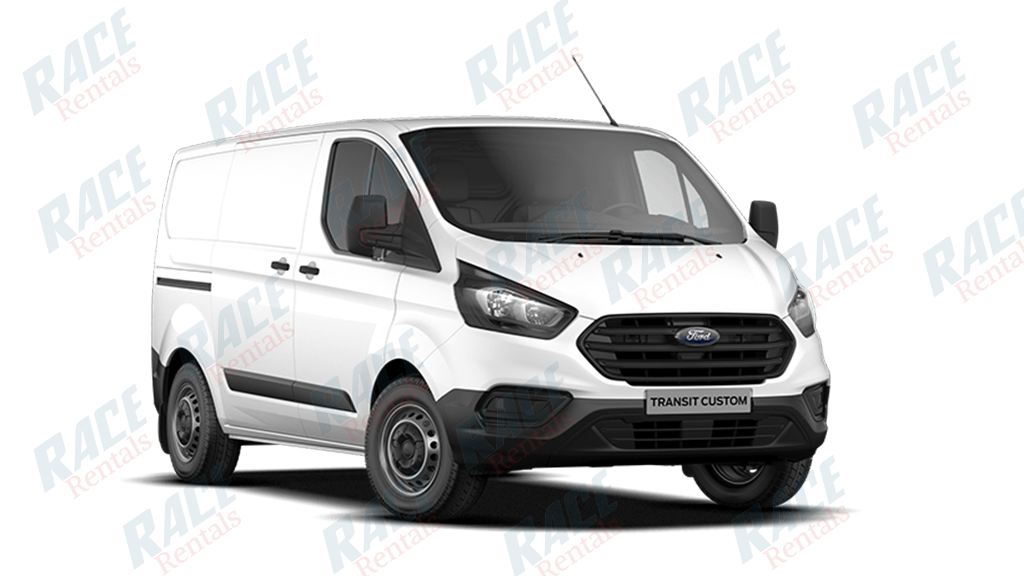 FORD TRANSIT CUSTOM VAN 300S WITH 2 SLIDING DOORS