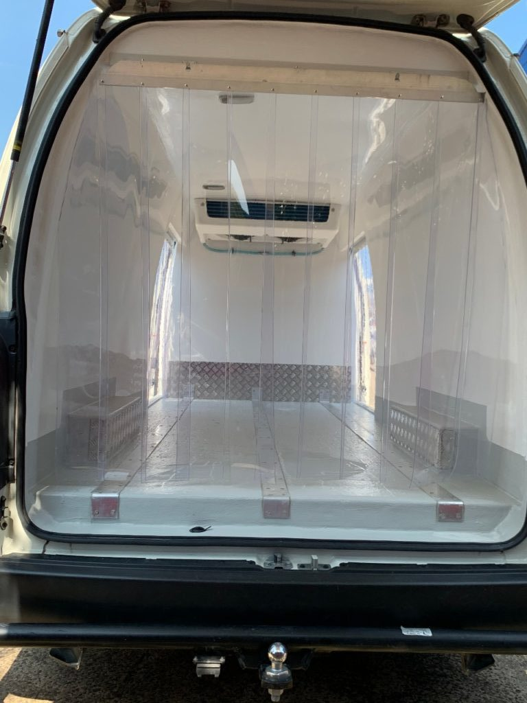 Refrigerated Hiace Old Shape 2 ton Van on Gas