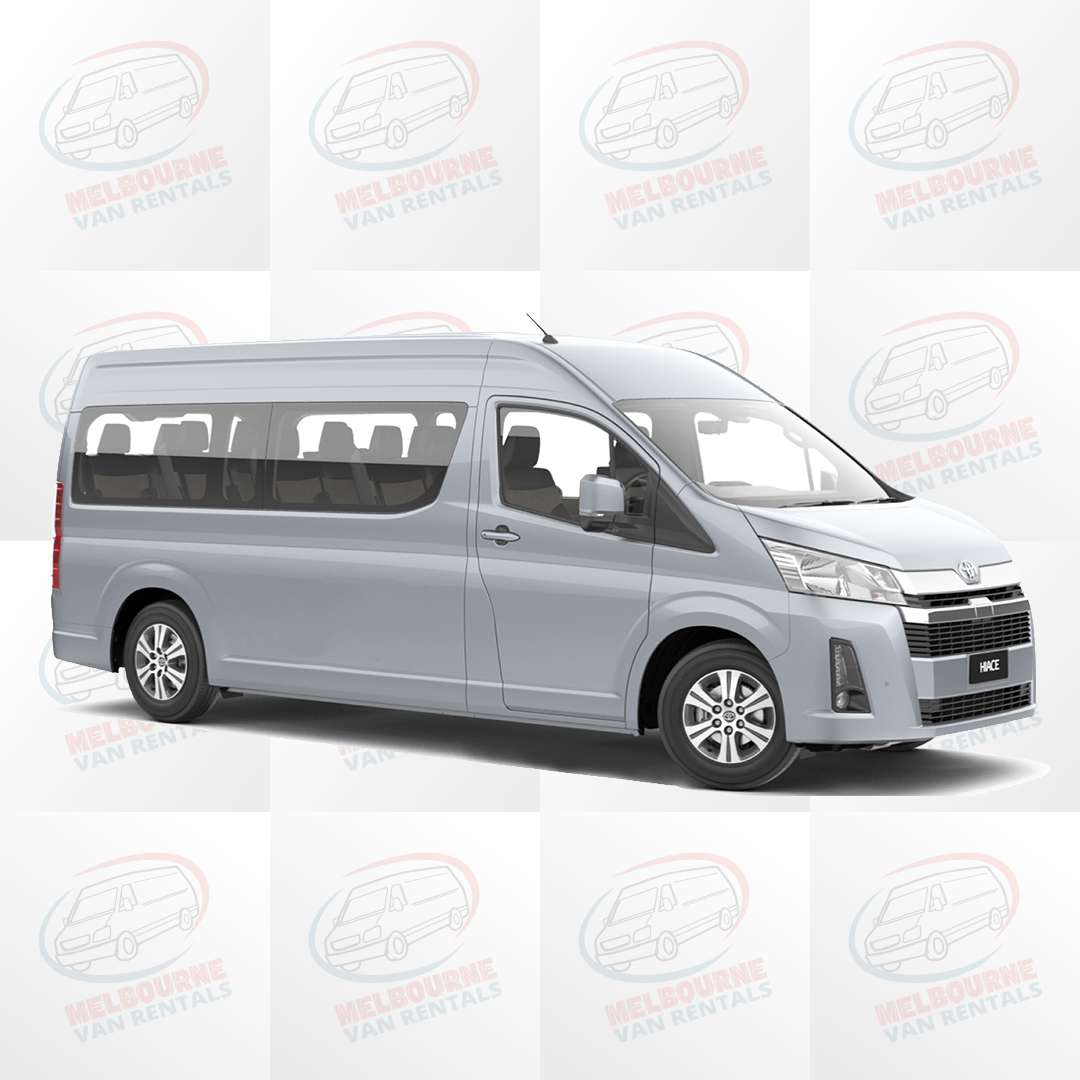 Hiace New Shape Commuter Bus - Cheapest Rental in Melbourne Clayton