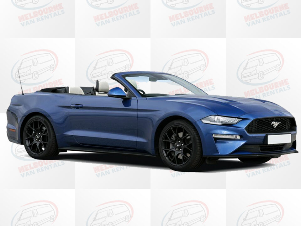 Ford Mustang convertible in Melbourne