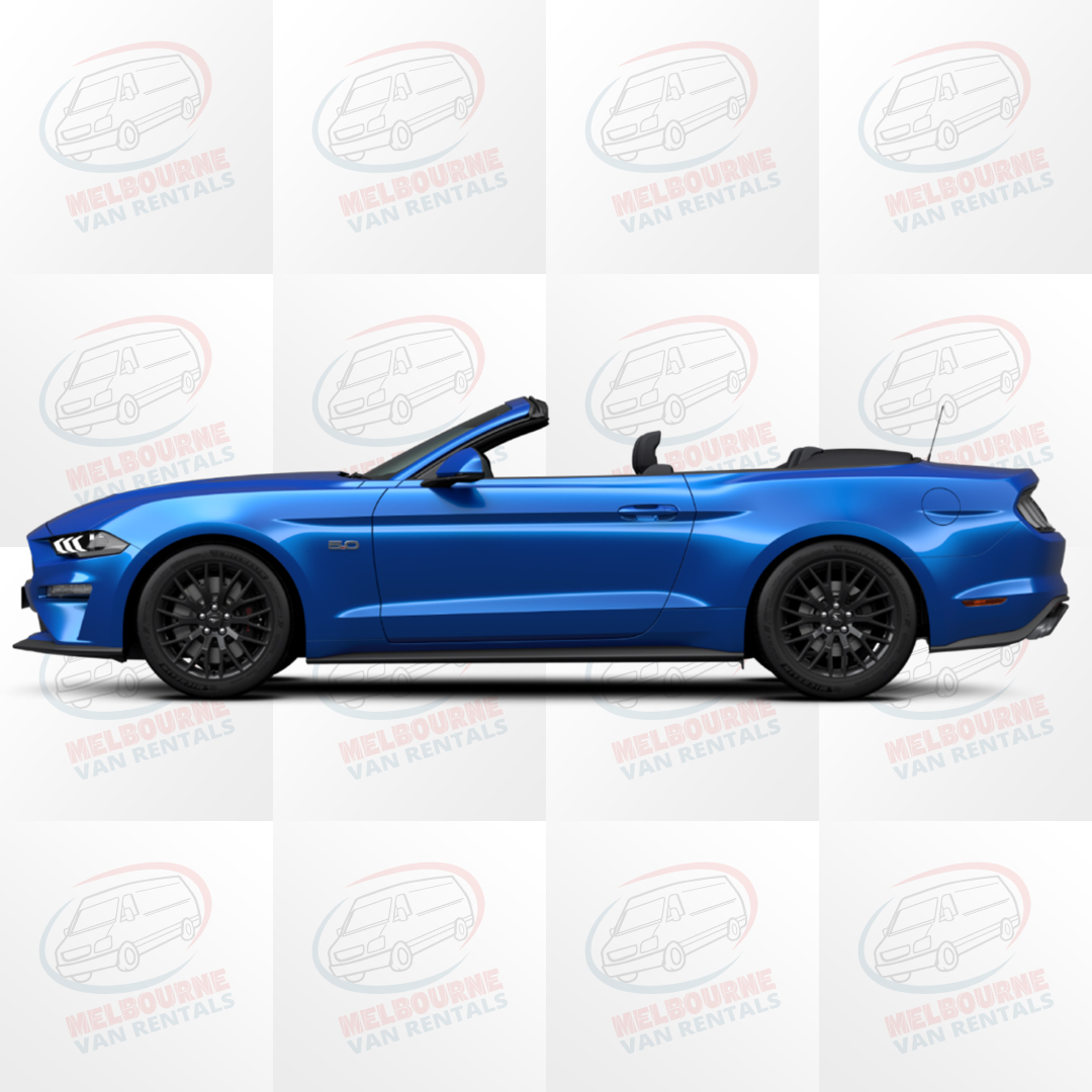 Mustang Convertible Hire in Melbourne